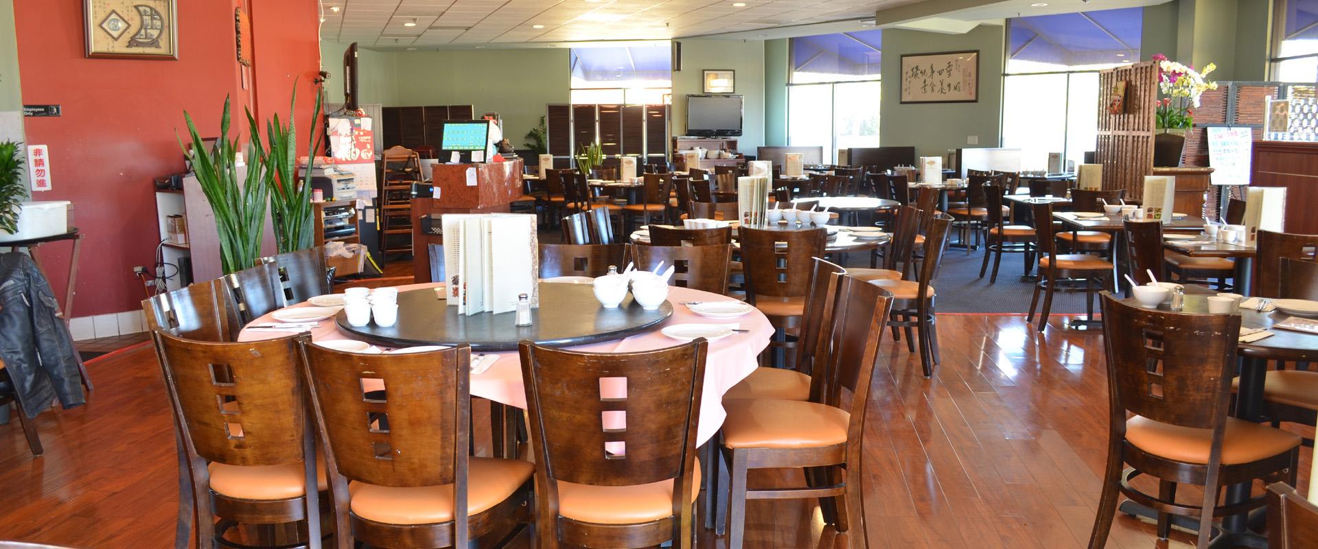 Vege Paradise Restaurant Inside